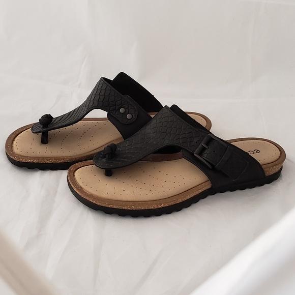 116c4f6c0 Ecco Shoes - NWOT Ecco comfort thong cork bed sandals